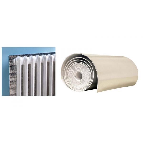 R flecteur de chaleur pour arri re radiateur bricoperl for Film isolant pour radiateur
